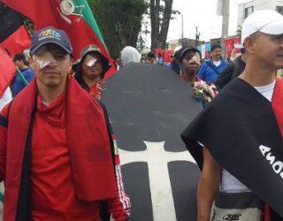 Movilizaciones pacíficas por las calles payanesas