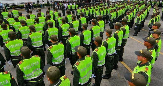 Además de ayudar a reducir los homicidios el año pasado en Cali, la Policía Metropolitana realizó 109 operaciones que permitieron la captura de más de 1000 delincuentes, algunos miembros de bandas.  Archivo de El País