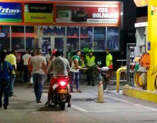 Detonan granada en estación de gasolina de Jamundí, Valle