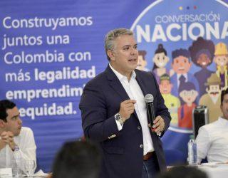 'Plan Popayán' y $100.000 millones para vías terciarias, los anuncios de Duque en el Cauca