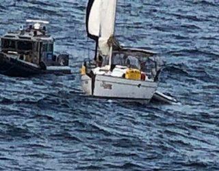 Rescatan extranjeros en el Pacífico
