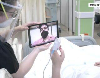 Hospitales realizan estrategias de acompañamiento para pacientes covid
