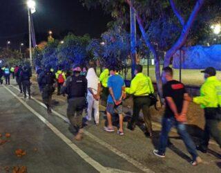 30 personas capturadas en Cali por presunto tráfico de estupefacientes