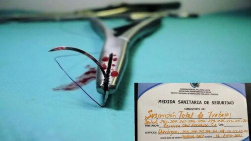 Cierran tres quirófanos de clínica de Cali que realizaba procedimientos estéticos pese a prohibición