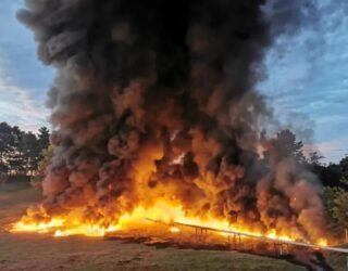 Fuerte explosión de oleoducto de Ecopetrol en Barrancabermeja
