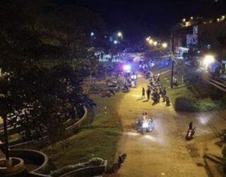 Cuatro jóvenes fueron asesinados en un parque de la localidad